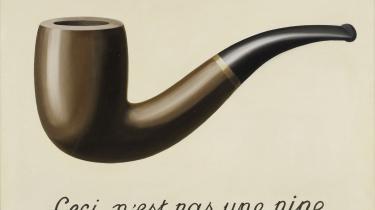 Dette er ikke en pibe, skrev Magritte på sit ikoniske maleri fra 1929. Det er et billede af en pibe. På samme måde er den virkelighed, vi sanser, ikke virkeligheden, men kun vores oplevelse af den, siger hjerneforskeren Donald Hoffman.