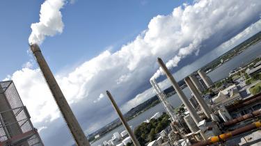 Cementfabrikken Aalborg Portland står for to procent af Danmarks samlede CO2-udslip.