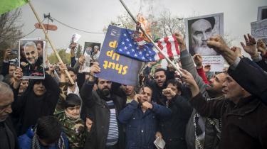 Efter amerikanernes likvidering af generalmajor Qassem Suleimani i januar gik mange iranere på gaden i Teheran for at vise deres utilfreds med USA. Få dage senere eksploderede vreden igen, efter Irans militær nedskød et ukrainsk passagerfly ved en fejl og forsøgte at dække over det.