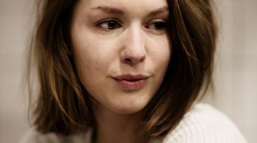 Det værste dengang var mødet med politiet, fortæller Sophia Corydon