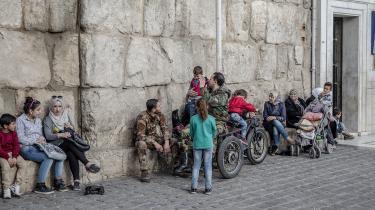 Sikkerhedssituationen i området omkring Syriens hovedstad, Damaskus, vurderes nu af de danske udlændingemyndigheder at være blevet så meget bedre, at en asylansøger fra den del af det krigshærgede land ikke længere automatisk kan få asyl. Billedet her taget i Damaskus i 2017.