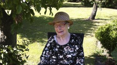Inge Andersen var et samlingspunkt – både for sin egen familie og for den familie, hun skabte som forstanderfrue på et børnehjem