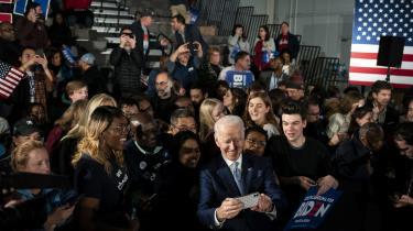Joe Biden blev, som han havde håbet, 'comeback kid' ved primærvalget i South Carolina lørdag.