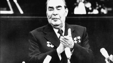 Det minder om måden, man i 1980'erne forsøgte at gøre sovjetiske statsledere – her Leonid Bresjnev – præsidentielle.
