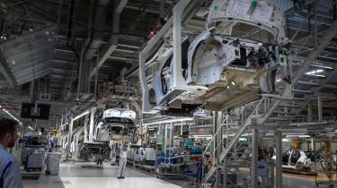 Genopretningen skal være grøn, erklærer en række EU-ledere. De investeringer, der gøres for at modvirke krisen, bør være i bæredygtig produktion – som for eksempel elbilerne her hos Volkswagen.