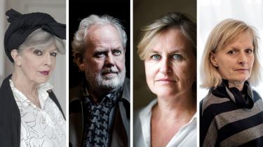 Suzanne Brøgger, Jens Smærup Sørensen, Ida Jessen, og Astrid Saalbach trækker sig i protest fra Det Danske Akademi.