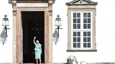 Dronningen tror ikke, at klimaforandringerne kun er menneskeskabte, for klimaet har jo altid ændret sig, som hun funderer.