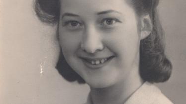 Det var først og fremmest med skrivemaskinen, at Rita Lauridsen bidrog til modstandsarbejdet.