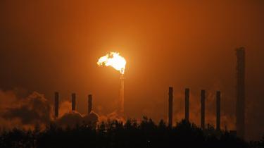 Otte ud af 14 danske pensionsselskaber har solgt deres ejendele i ExxonMobil. Her ses oliegigantens kraftværk i Cowdenbeath, Skotland.
