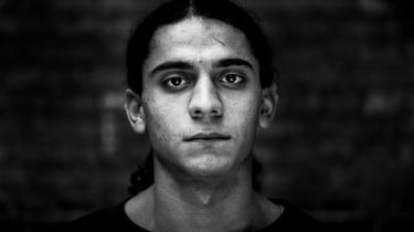 Yahya Hassan, fotograferet i 2013.