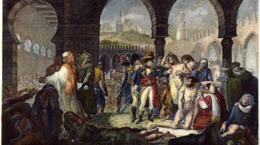 Antoine-Jean Gros' maleri Bonaparte besøger de pestramte i Jaffa