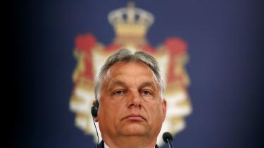 Udenrigsministeren har taget initiativ til en fællesnordisk markering af bekymringen over udviklingen i Ungarn i Europarådet. En kritik, der også er blevet rejst direkte over for Orbáns regering i Ungarn.