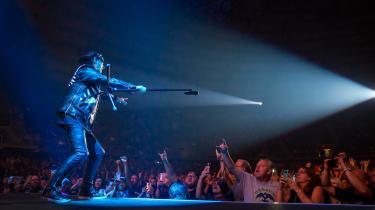 Historien om, hvordan Scorpions forsanger Klaus Meine – her ved en koncert i Texas i 2018 – blev spontant inspireret til at skrive den håbefulde hyldest til forandring 'Wind of Change' efter at have spillet på en amerikansk finansieret rockfestival i Moskva i 1989 er næsten perfekt i sig selv. Den eneste måde, den kunne blive bedre på, var nok, hvis den bare var et dække for en usandsynligt vellykket amerikansk propagandavirksomhed.