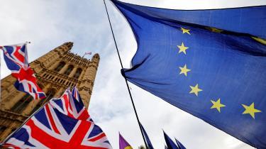 Udsigten til et no deal-Brexit under coronakrisen vurderes fra flere sider at vokse støt. Boris Johnson har ladet forstå, at man allerede fra juli vil flytte en del af fokus væk fra forhandlingerne og i stedet forberede sig på no deal. Arkivfoto.