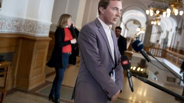Kulturminister Joy Mogensen (S) var kaldt i åbent samråd om udbuddet af en ny digital public service-radiokanal på Christiansborgonsdag den 27. maj 2020.