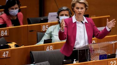 Ursula von der Leyen præsenterede onsdag sit udspil til et »Next Generation EU«.