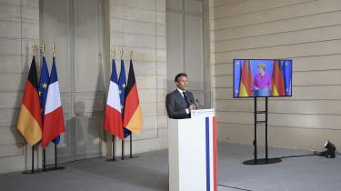 Målsætningen om, at EU skal styre mod strategisk autonomi, var en del af udspillet fra Tysklands Merkel og Frankrigs Macron i sidste måned, og den er formuleret i EU-kommissonens udspil til en vej ud af krisen efter COVID-19.
