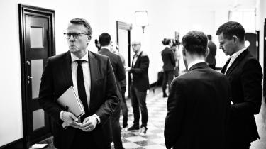 Skatteminister Morten Bødskov var tirsdag indkaldt til samråd om skattely og hjælpepakker.