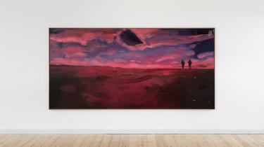 Anna Bergers udstilling 'Dark Light' kan ses på Gl. Holtegaard indtil 12. juli