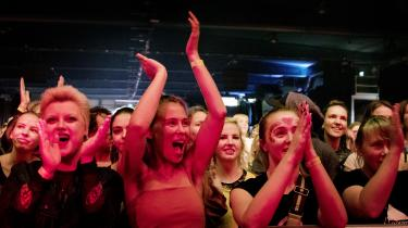 Festivalen Statement i Gøteborg i 2018, hvor kvinder, transpersoner og ikke-binære er inviteret til musikken.