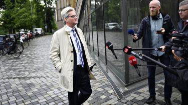 Fredag formiddag blev forhenværende justitsminister Søren Pind afhørt af Instrukskommissionen.