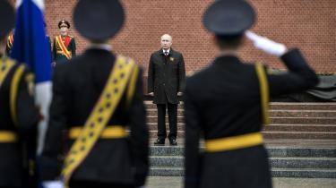 Putin bruger  ikke anledningen til at søge forsoning med det Østeuropa, som sovjettiden undertrykte. Og heller ikke til at gøre op med den religiøse mytologisering af krigen.