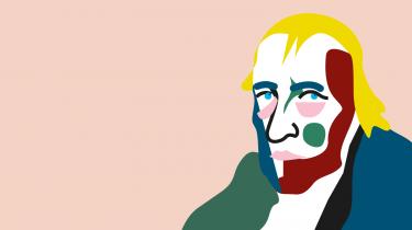 Georg Wilhelm Friedrich Hegel har sat vores tid og historie på begreb og som ingen anden udfoldet de store sammenhænge. Nu forklarer vi hans filosofi forfra, men først kommer her historien om hans tid og hans liv – komplet med unge genier på kollegium, revolution i luften, prekære arbejdsforhold, knudrede sætninger, storhed og nogle ret berømte sidste ord