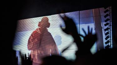 Informations musikanmeldere drømmer sig væk til fantasikoncerter med blandt andre Kate Bush, Frank Ocean og Joni Mitchell. Her er imidlertid et billede af Frank Ocean fra en virkelig koncert tilbage i 2017 på NorthSide Festival.
