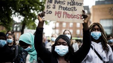 Black Lives Matter Denmark afholdte i juni i demonstration imod racisme i Odense.