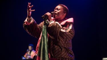 Sampa the Great til Beat Academy Festival i London i 2019.