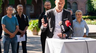 Sundhedsminister Magnus Heunicke præsenterede den officielle corona-app den 18. juni.