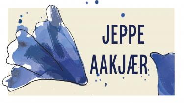 Jeppe Aakjær skriver stilfærdigt mennesket ud af naturen som ånd, men tilbage som krop