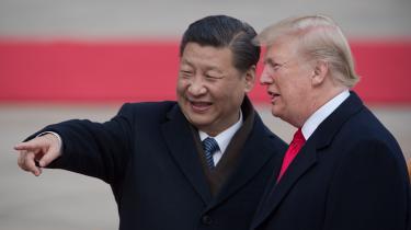 »Trump kalder Kinas præsident, Xi Jinping, for »min gode ven« og har aldrig villet kritisere ham for hans regimes menneskerettighedskrænkelser og undergravelse af retsstaten i Hongkong.« skriver forfatter Ian Buruma.