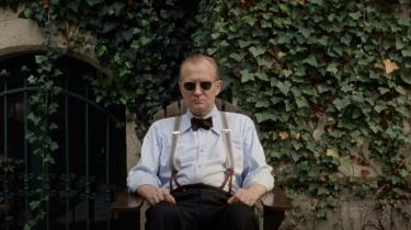 Ulrich Thomsen spiller Henrik Kauffmann i'Vores mand i Amerika'.