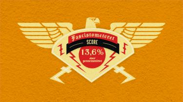 Kim Møller, der driver den højreradikale blog Uriasposten, scorer 13,6 procent over gennemsnittet på Adornos fascisttest.