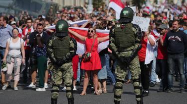 Protesterne i Hviderusland fortsætter på fjerde uge efter et præsidentvalg, som oppositionen og mange hviderussere mener har været genstand for omfattende valgfusk.