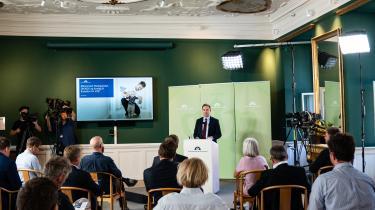 Mandag klokken 12 præsenterede finansminister Nicolai Wammen (S) regeringens udspil til en finanslov.