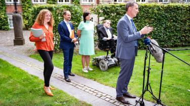 Justitsminister Nick Hækkerup præsenterede tirsdag forslaget til en samtykkelov.