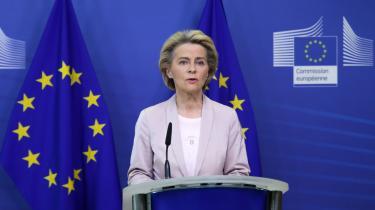 Onsdag leverer EU-kommissionens formand, Ursula von der Leyen, sin første state of the union-tale. Her ventes hun at bakke op om et reduktionsmål på minimum 55 procent – og ikke det videnskabeligt anbefalede mål på 65 procent.