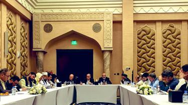 Fredsforhandling mellem parterne i Afghanistans konflikt, Kabul-regeringen og Taleban, indledtes mandag i Qatars hovedstad, Doha.