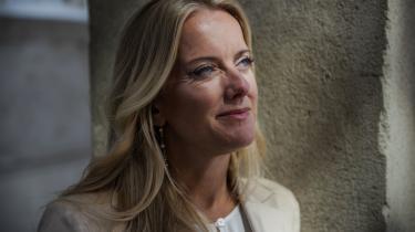 Pernille Vermund er formand for et parti, der på blot et år er vokset til tredobbelt størrelse og nu står til 12 mandater.