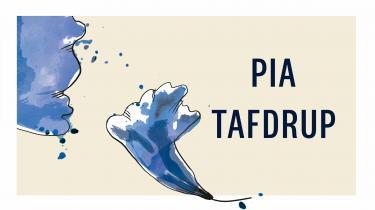 Pia Tafdrup tager alle sanser i brug: hørelse, følelse, syn, smag, lugtesans, ja, selv balanceevnen