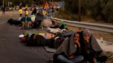 Ophobningen af asylansøgere er blevet en humanitær katastrofe, se bare på Morialejren på Lesbos.