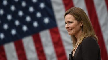 Hvis det lykkes Trump og republikanerne at få indsat Amy Coney Barrett som ny højesteretsdommer inden valget den 3. november, kan hun i den grad blive en torn i øjet på Joe Biden, hvis han skulle gå hen og vinde.
