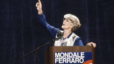 Geraldine Gerraro var den første kvindelige vicepræsidentkandidat. I 1984 forsøgte hun sammen med Walter Mondale at vippe Ronald Reagan af pinden.