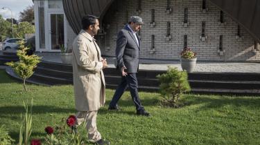Imad Malik (tv.) og Mohammed Zakaria Khan (th.) tilhører begge ahmadiyya-skolen.