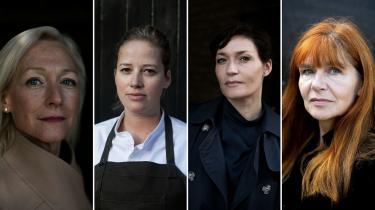 It-chef Cecilia Bonefeld-Dahl, mesterkok Kamilla Seidler, erhvervsleder Mia Wagner og universitetsrektor Hanne Leth Andersen fortæller om sexisme og -chikane i deres brancher – og hvordan de vil slippe af med den.