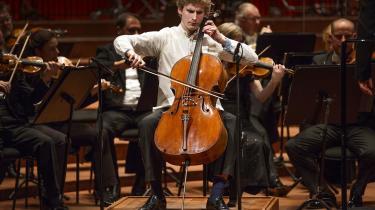 Andreas Brantelid er afgjort en melodisk begavet musiker, han nærmest synger sig gennem sonaten, faktisk så smukt, at man kommer til at tænke på den italienske vokalmusiks stærke påvirkning af russisk musik i 1800-tallet. Arkivfoto.