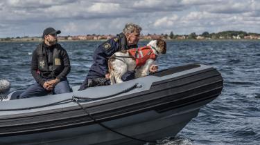 I fjerde afsnit af 'Efterforskningen' bjæffer en svensk politihund på en båd ude i havet ved Avedøreværket, fordi den har fået færten af den døde journalist Kim Wall. Men hvor på havets bund, hendes ligdele eventuelt så befinder sig, viser sig ikke at være til at regne ud.