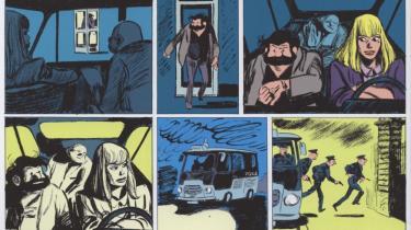 Den franske tegner Blutchs har nu signeret et opkog af en ældgammel børnetegneserie, 'Tim og Thomas', som også er blevet hans danske albumdebut.